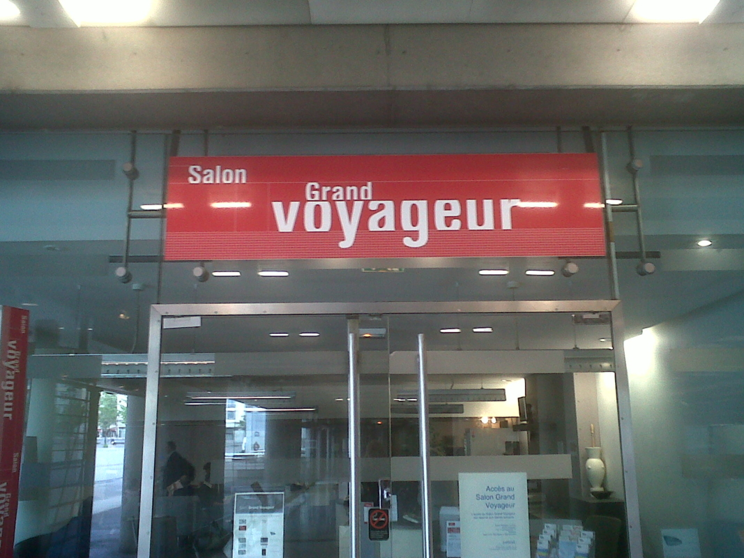 Salons Grand Voyageur SNCF
