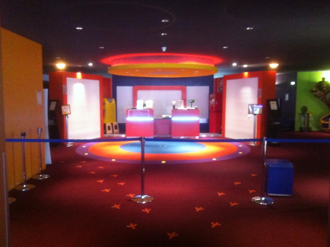 Réamnégement du cinéma Gaumont-Pathé Amiens