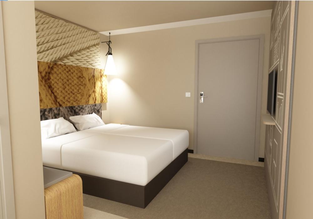 Extension de l'hôtel IBIS de Poissy