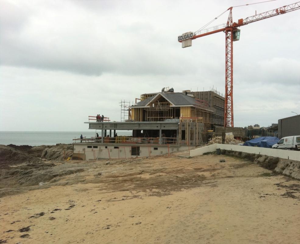 Réhabilitation de l'hôtel-restaurant « L'Océan »