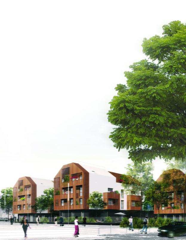 Ensemble immobilier conçu par NEXITY SEERI