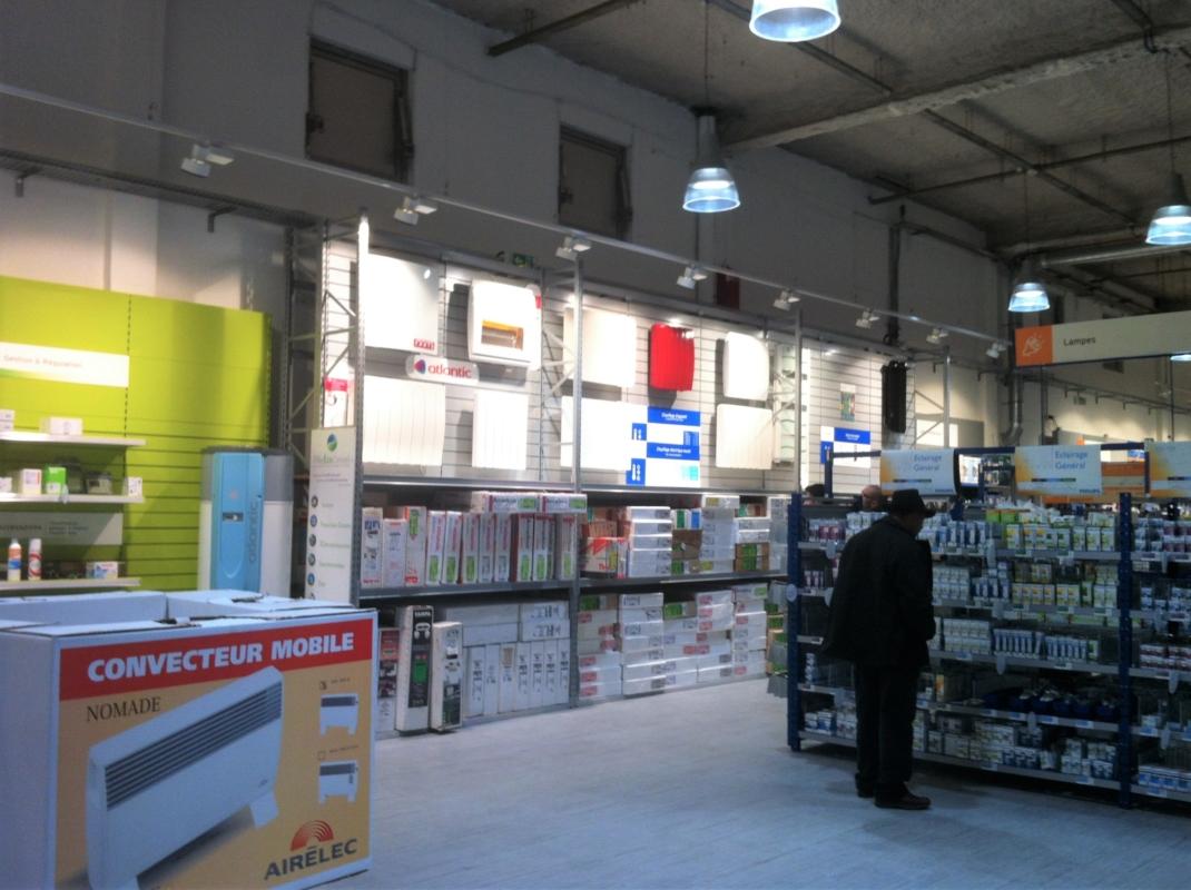 Rénovation d'une surface de vente SONEPAR