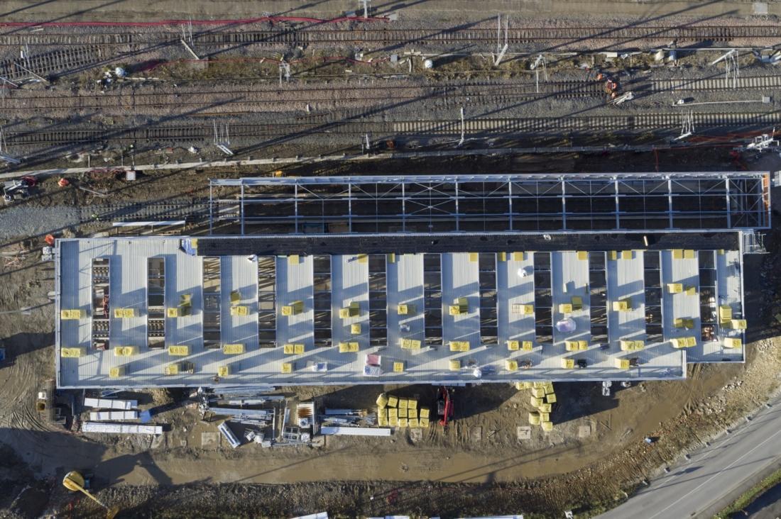 Création du centre technique ferroviaire d'Annemasse