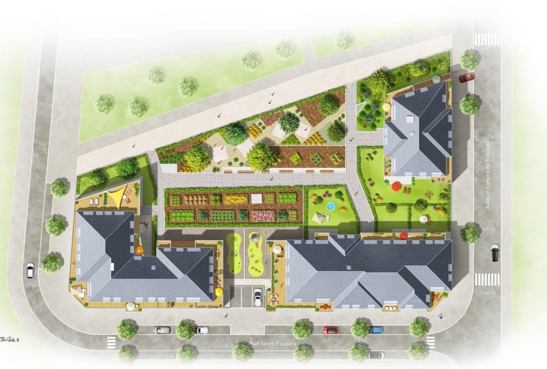 Construction de logements et micro crèches pour TAGERIM PROMOTION