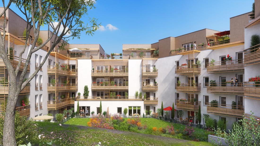 Création de 250 logements et d'un ERP pour BOUYGUES IMMOBILIER