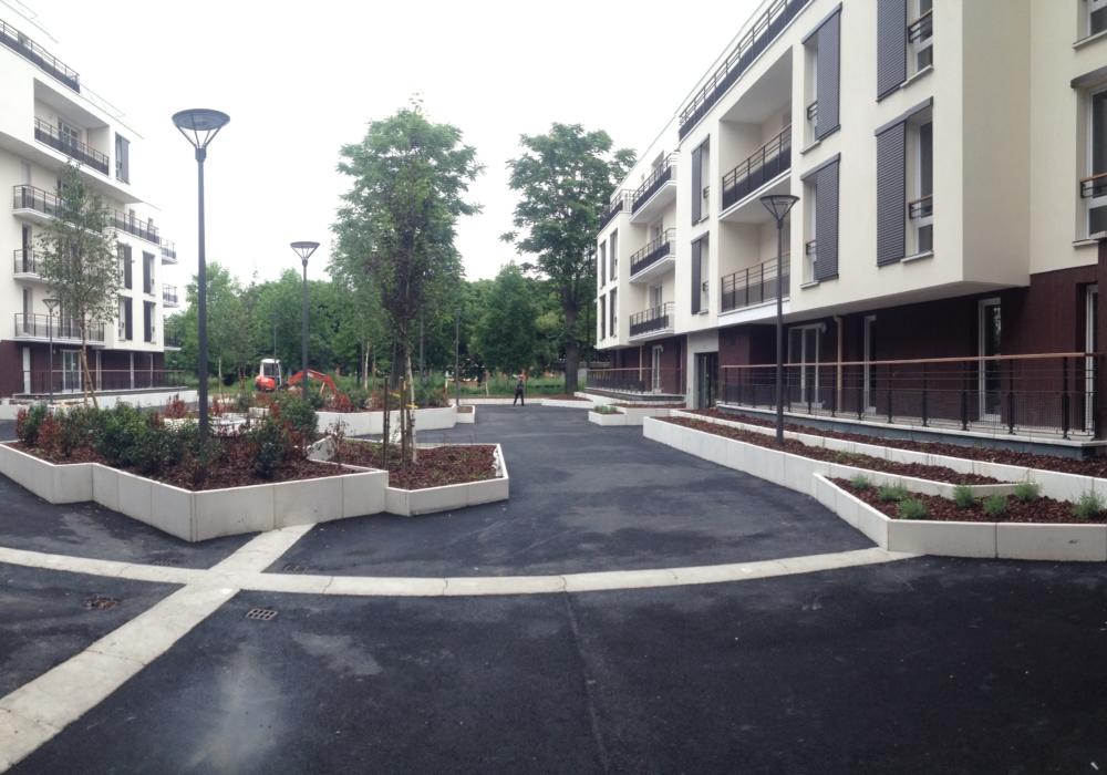 Reconstruction de logements pour I3F