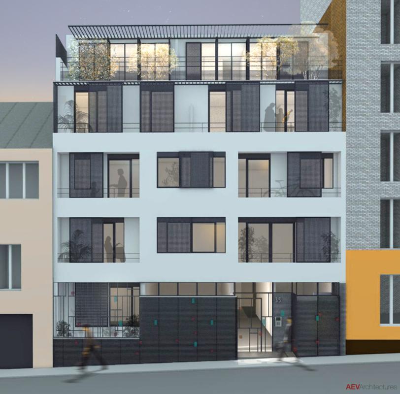 Construction de l'ensemble immobilier « Cœur Vingtième »