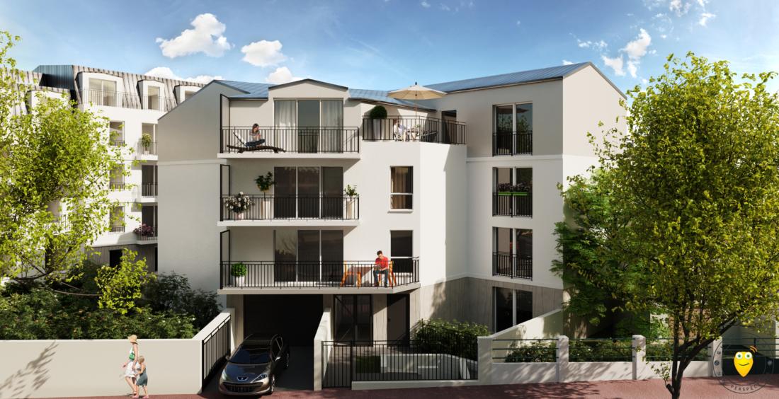 Une nouvelle résidence à Antony - AIC