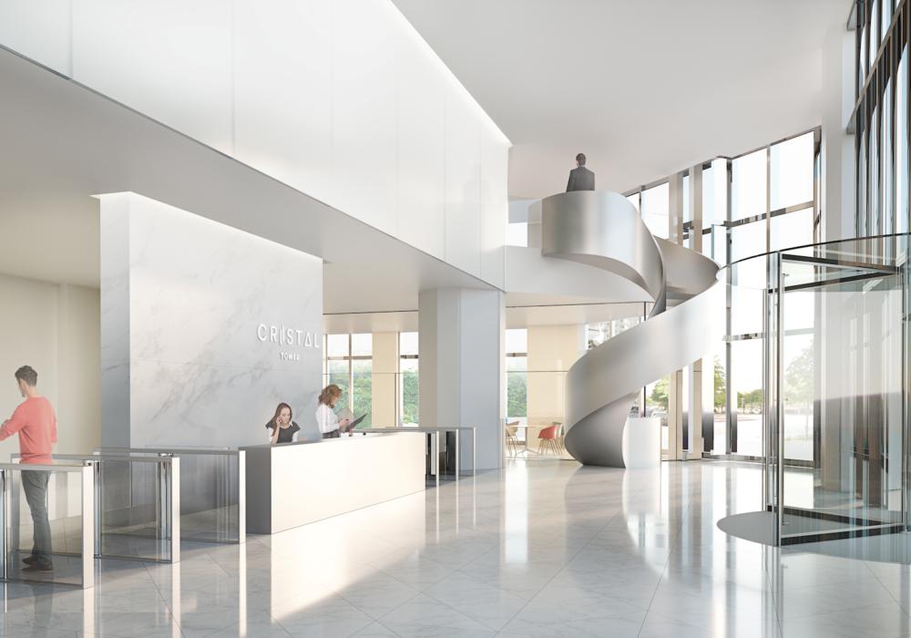 Rénovation des zones communes de la Tour Cristal Paris 15