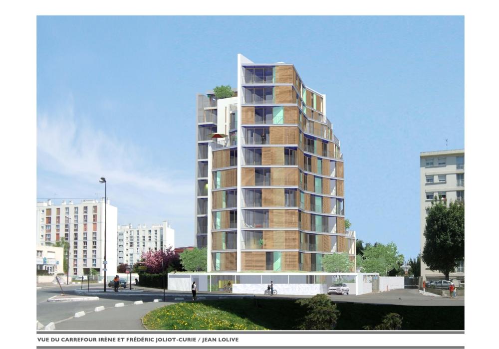 Démolition reconstruction d'un immeuble de logements sociaux