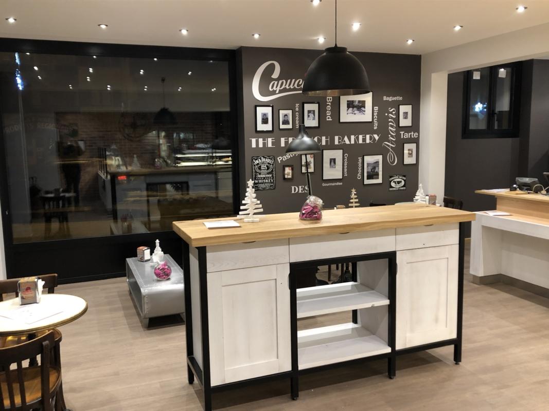 BOULANGERIE PÂTISSERIE CAPUCINE : un loft new yorkais à St-Jean-de-Sixt