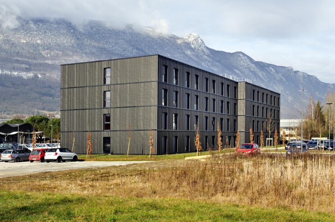 Construction innovante d'une résidence de logements étudiants au Bourget-du-Lac