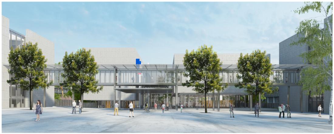 Réalisation du nouveau bâtiment de l'ENS PARIS SACLAY