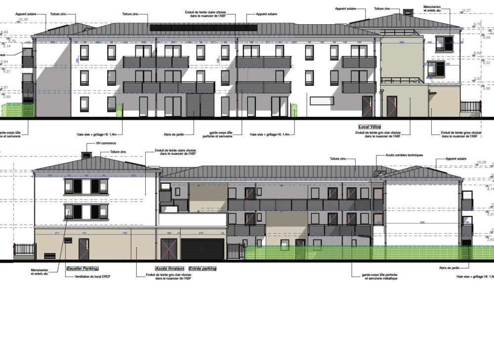 Pilotage du projet IMMOBILIÈRE 3F de 28 logements
