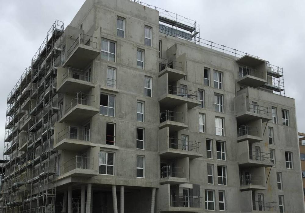 Construction de la résidence « Avant-Première » de SOGEPROM HABITAT