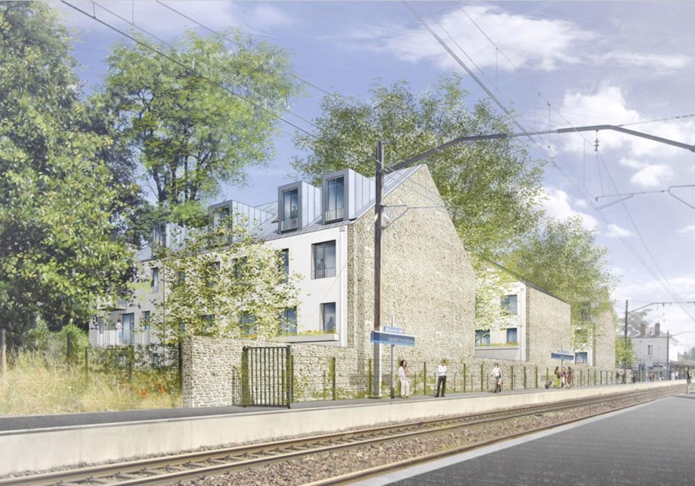 Immeuble de 33 logements à proximité de la gare de Saint-Chéron pour I3F
