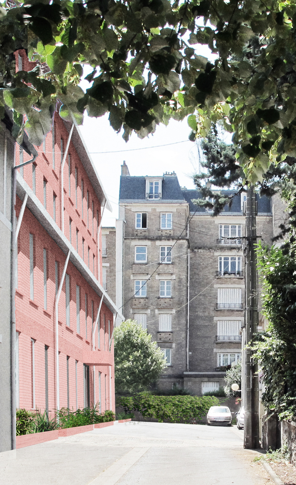 18 logements I3F Le Raincy OPC