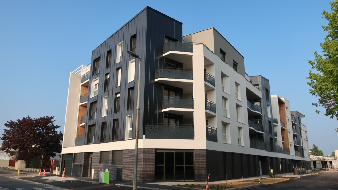 Création de 58 logements et d'un local collectif au RDC en Seine-et-Marne OPH 77