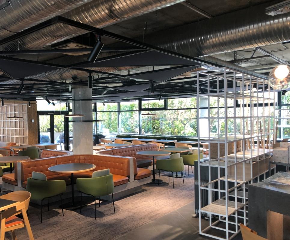 Rénovation de l'hôtel Novotel Annecy Centre Atria
