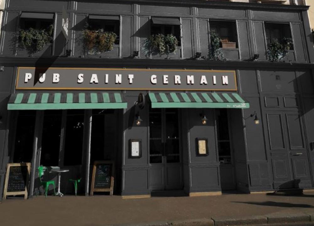 Pub Saint Germain - Paris