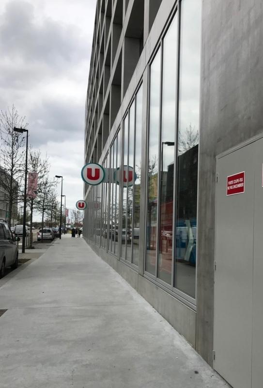 Un supermarché dans le cadre du programme RUBIX à Nantes