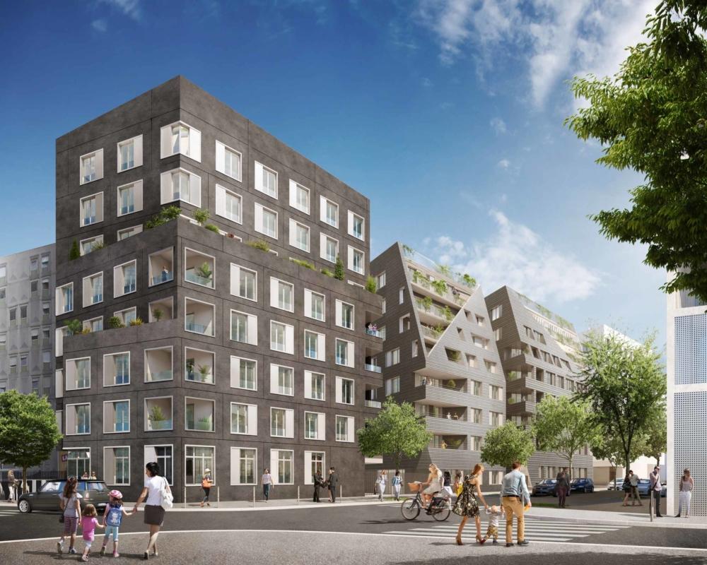 Projet de 49 logements sur deux bâtiments distincts - NACARAT et CREDIT AGRICOLE IMMOBILIER