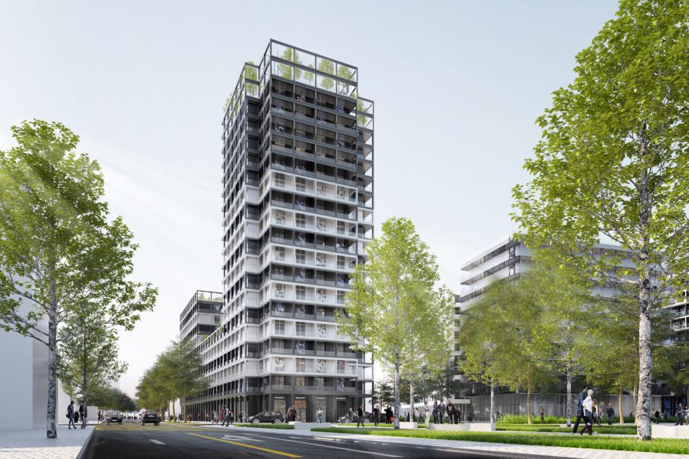 Construction OGIC et SCCV ASNIERES PARC B2 – Logements – Asnières-sur-Seine (Hauts-de-Seine)