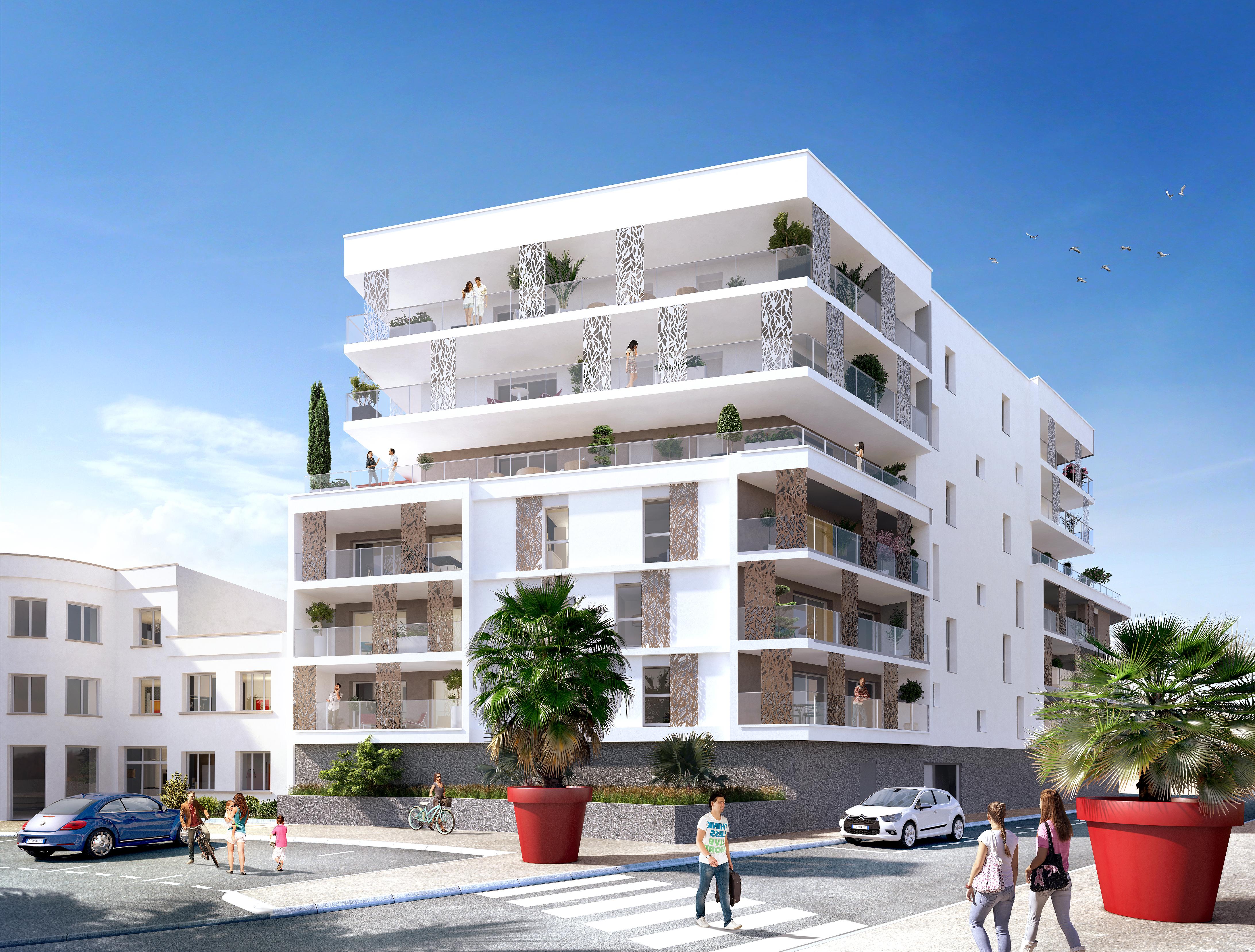 Construction programme de 45 logements pour le Groupe Giboire à Saint-Nazaire (Loire-Atlantique)