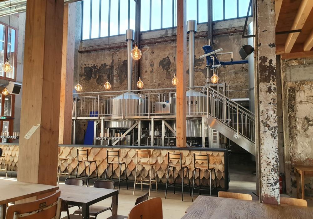 Création d'une brasserie artisanale LAB Chantenay à Nantes