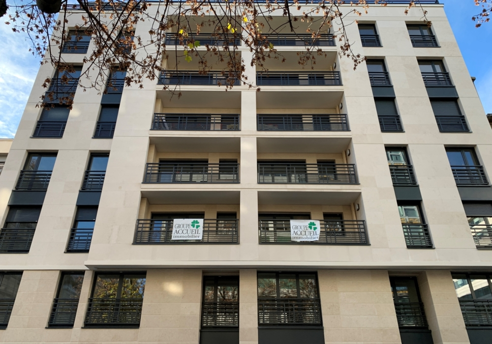 Construction de 37 logements en R+7 et 2 niveaux de sous-sol pour le compte du GROUPE ACCUEIL à Neuilly sur Seine