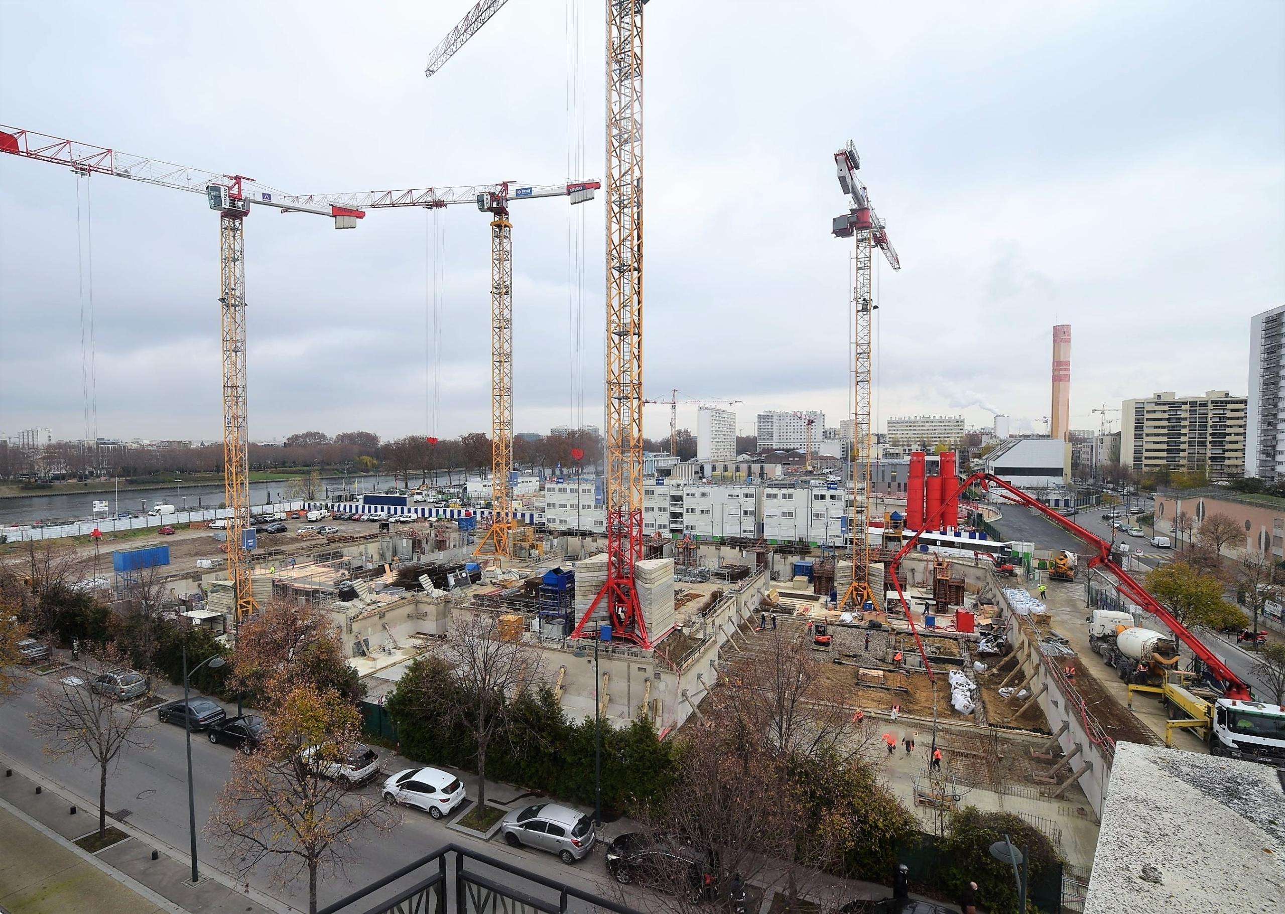 la réalisation d'un ensemble immobilier de 310 logements sur 12 bâtiments lancé par ALTAREA COGEDIM et OGIC à Clichy