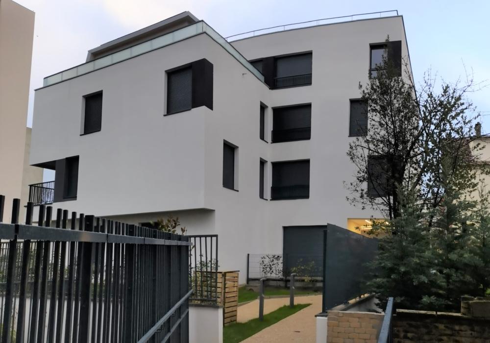 """Construction de deux bâtiments de 45 logements collectifs et d'un parc de stationnement pour NEXITY """"27 Lafargue"""" à Le-Kremlin-Bicêtre"""