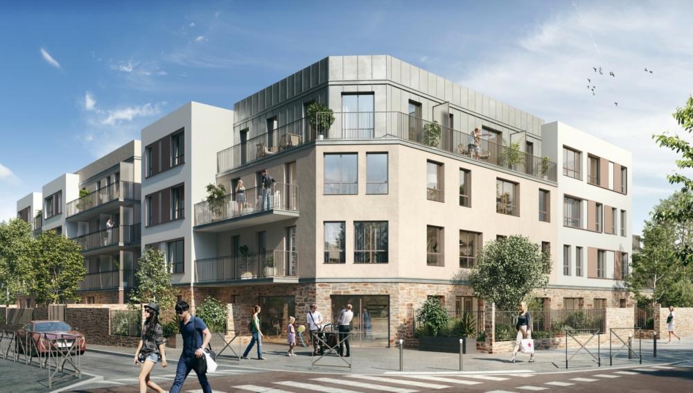construction de sa nouvelle résidence « Cœur Cannabria » à Chennevières-sur-Marne - AIC IDF