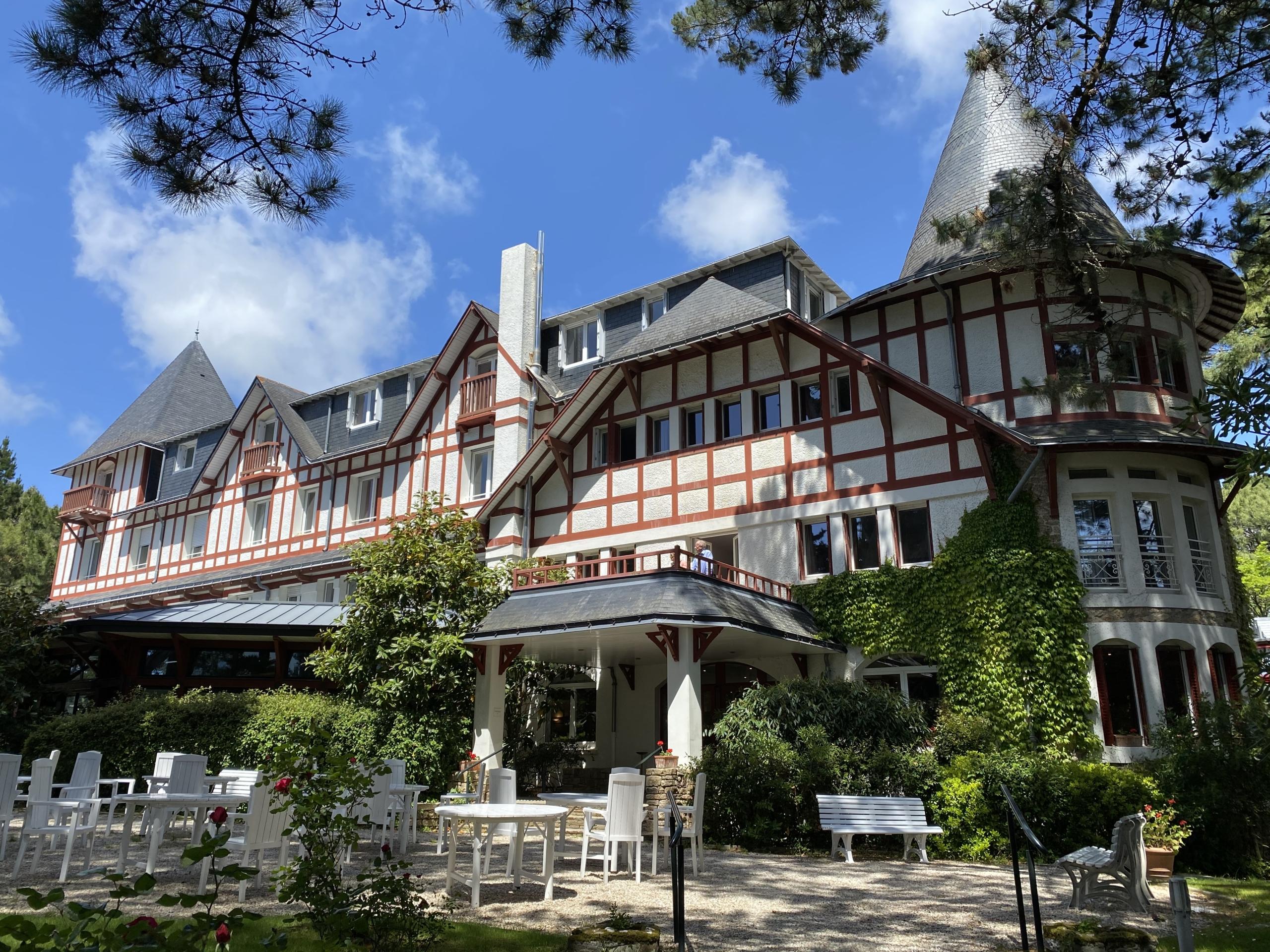 rénovation de l'hôtel Les Pléiades situé au cœur de la baie de La Baule - Mileade