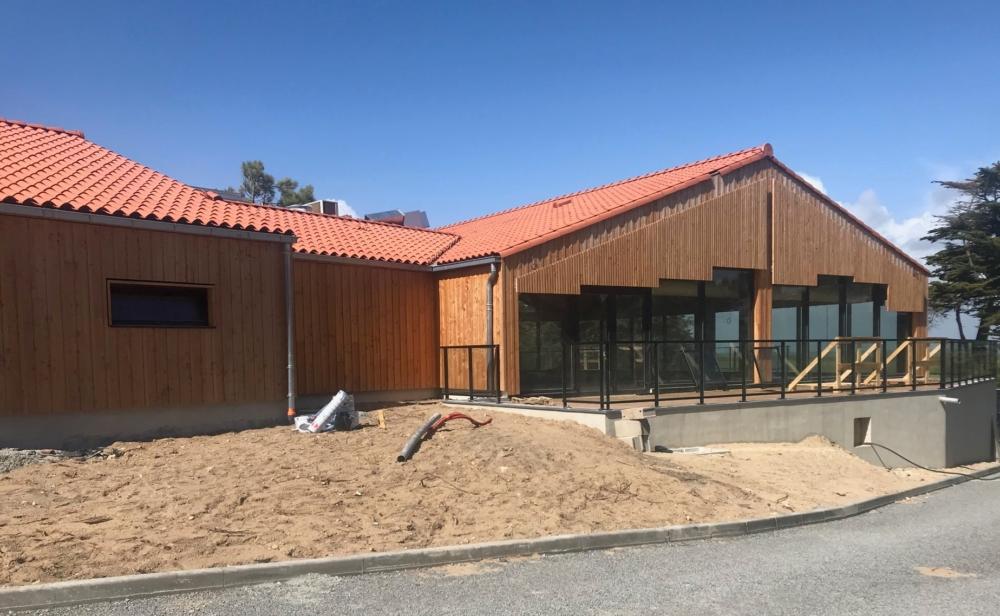 rénovation et l'extension du village de vacances Mileade à Barbâtre sur l'Ile de Noirmoutier