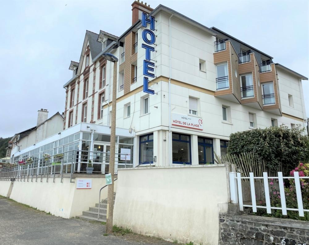 Mileade, création d'un spa dans « l'Hôtel de la Place » situé à Binic-Etables-sur-Mer.